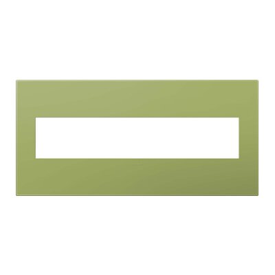 adorne Wall Mounted Outlet Cover Finish: Lichen Green