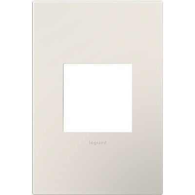 adorne 1-Gang Wall Plate Finish: Satin Light Almond