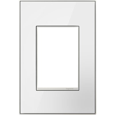 adorne Wall Mounted Outlet Cover Finish: Mirror White