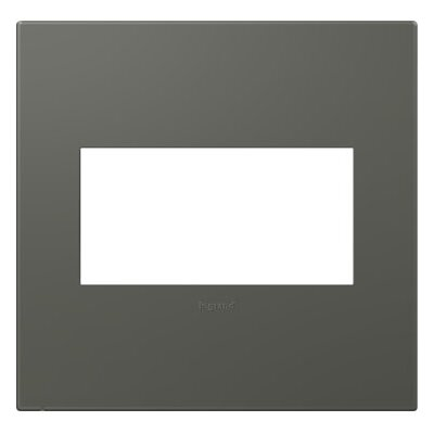 adorne 2-Gang Wall Plate Finish: Moss Grey