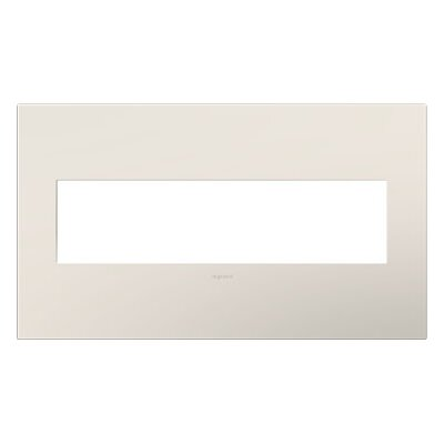 adorne Wall Mounted Outlet Cover Finish: Satin Light Almond