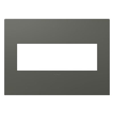 adorne 3-Gang Wall Plate Finish: Moss Grey