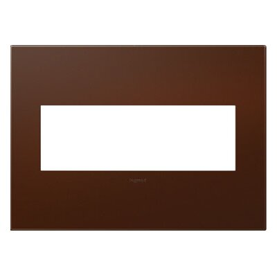 adorne 3-Gang Wall Plate Finish: Russet