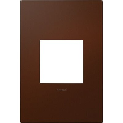 adorne 1-Gang Wall Plate Finish: Russet