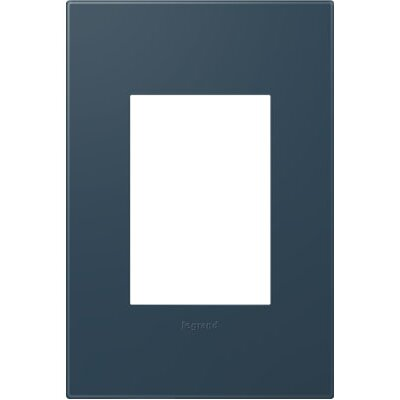 adorne 1-Gang, 3-Module Wall Plate Finish: Felt Green