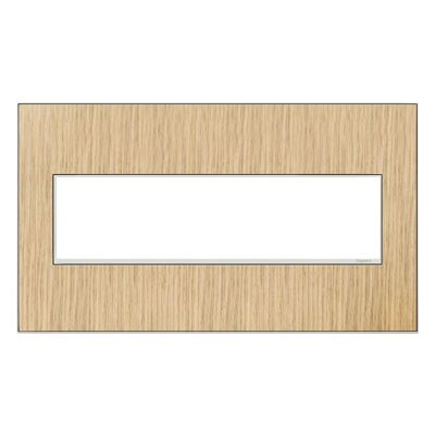adorne 4-Gang Wall Plate Finish: French Oak