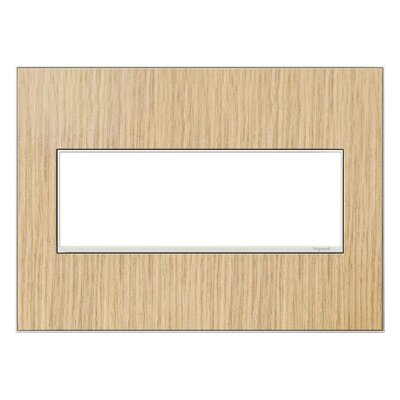 adorne 3-Gang Wall Plate Finish: French Oak