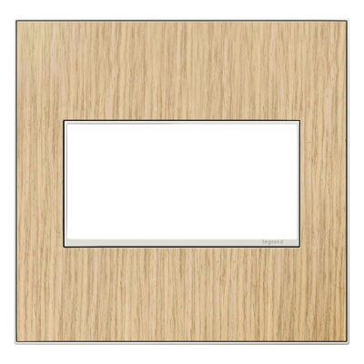 adorne 2-Gang Wall Plate Finish: French Oak