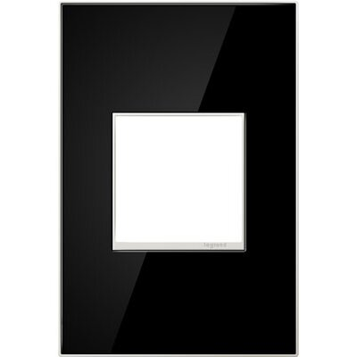 adorne Wall Mounted Outlet Cover Finish: Mirror Black