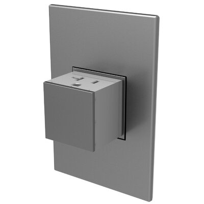 Adorne� Wall Mounted Outlets Finish: Magnesium