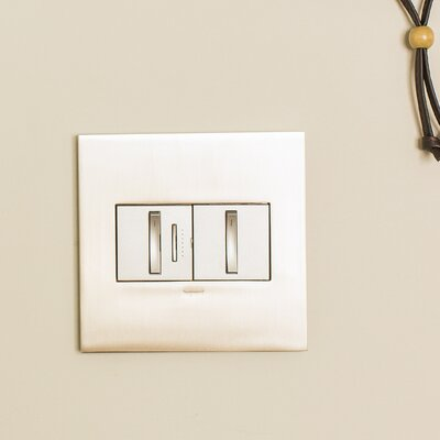 adorne Whisper Dimmer, Wireless Master Finish: Magnesium
