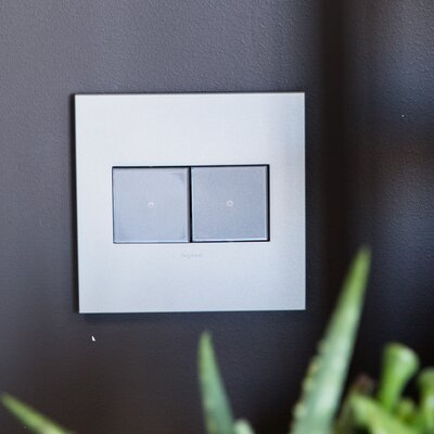 adorne Touch Switch, Wireless Master Finish: Magnesium