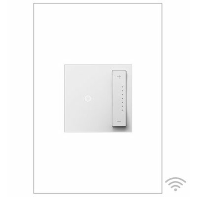 adorne n SofTap Dimmer, Wireless Master Finish: White
