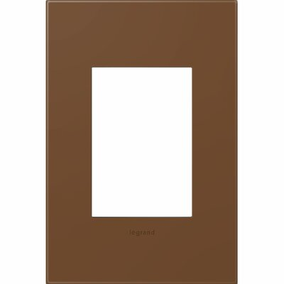 adorne 1-Gang, 3-Module Wall Plate Finish: Cappuccino