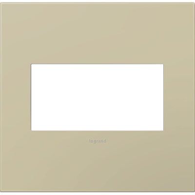 adorne 2-Gang Wall Plate Finish: Ashen Tan