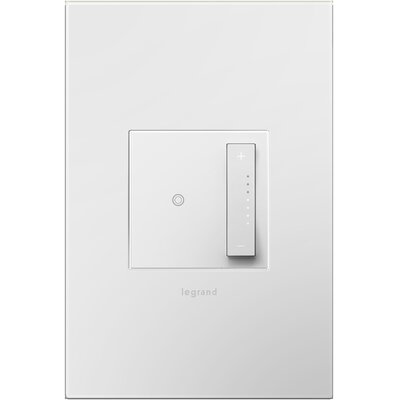 Adorne Wall Mounted Dimmer Finish: White