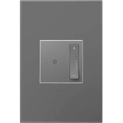 Adorne Wall Mounted Dimmer Finish: Magnesium Gray