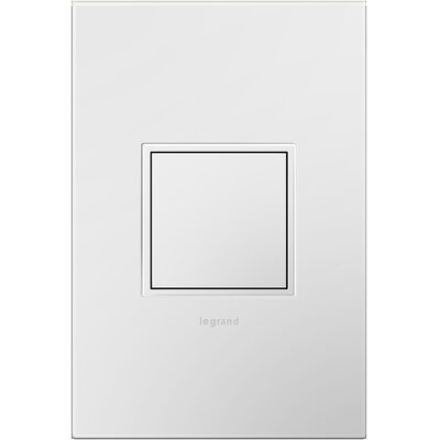 Adorne Wall Mounted Outlet Finish: White