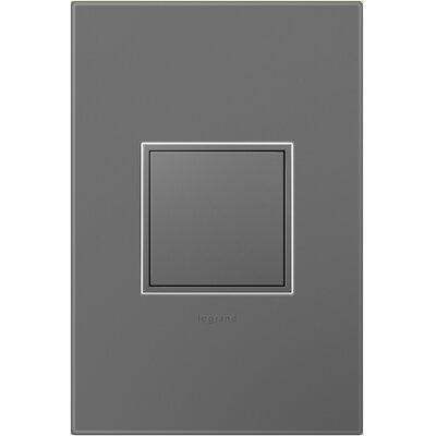 Adorne Wall Mounted Outlet Finish: Magnesium Gray