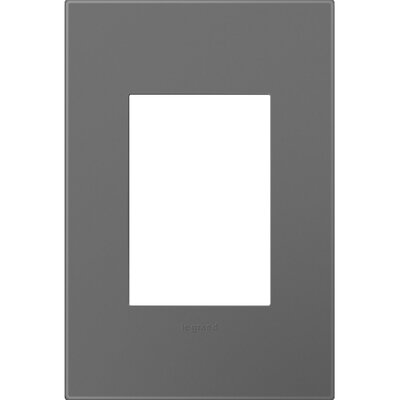 adorne 1-Gang, 3-Module Wall Plate Finish: Magnesium