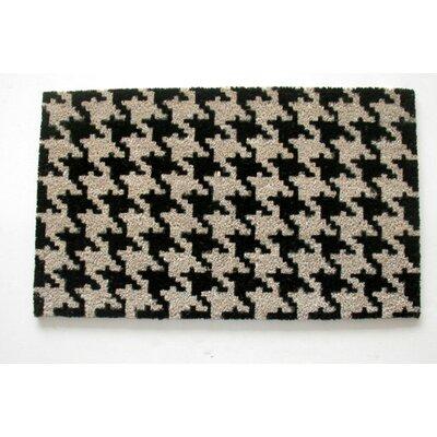 Houndstooth Doormat