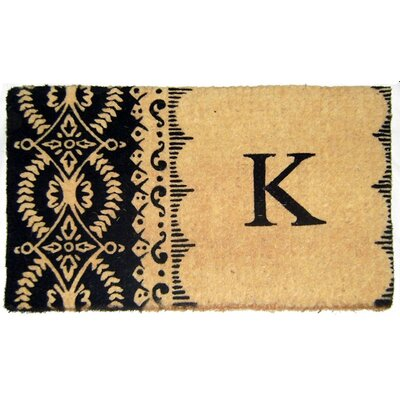 Imperial Heirloom Monogrammed Doormat