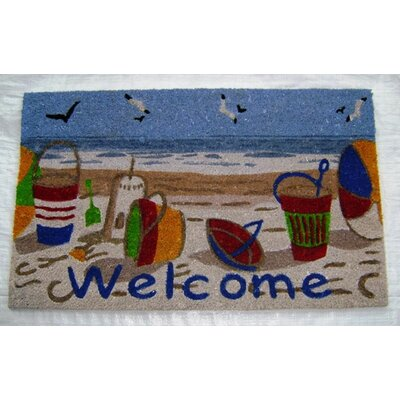 Welcome Beach Doormat