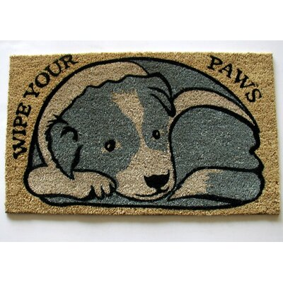 Ashlei Wipe Your Paws Doormat