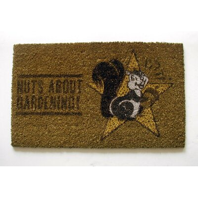 Nuts about Gardening Doormat