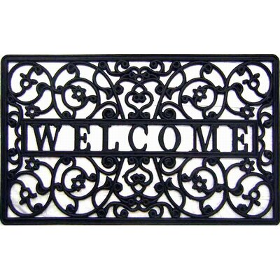 Welcome Cutout Doormat