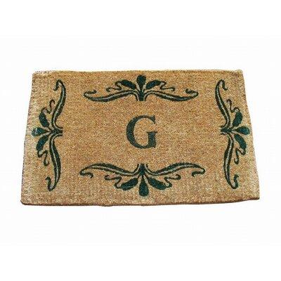 Imperial Monogrammed Doormat