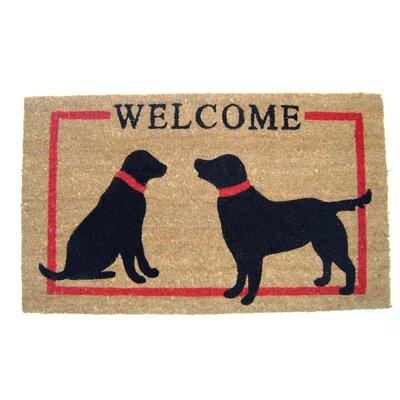 Camelon Dogs Welcome Doormat