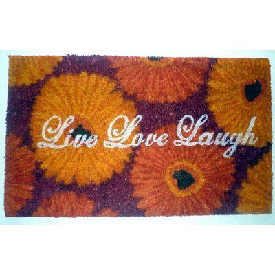 Live Love Laugh Doormat