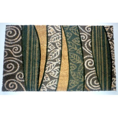 Africa Scroll Leaves Doormat