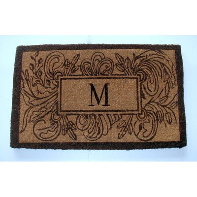 Marseille Leave Doormat Mat Size: Rectangle 24 x 39
