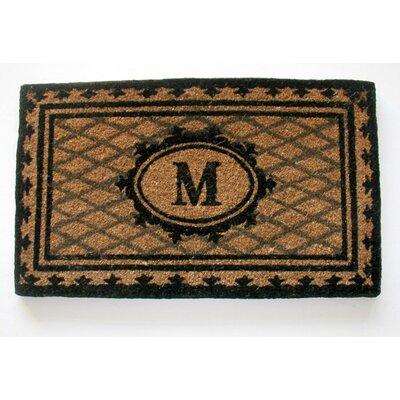 Aspendale Creel Monogrammed Doormat