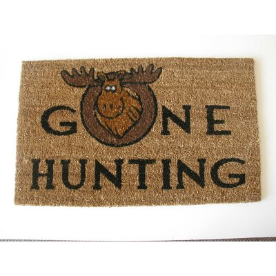 Gone Hunting Doormat