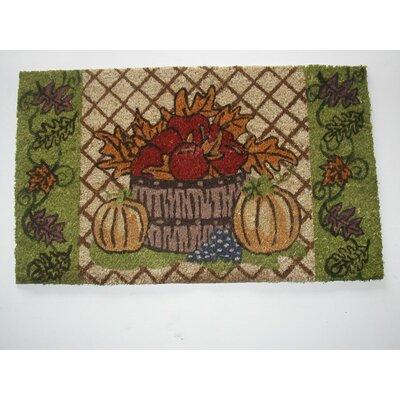 Harvest Doormat Rug Size: 18 x 30