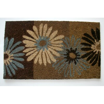 Floral with Daisies Doormat