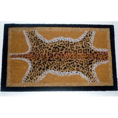 Leopard Skin Doormat
