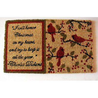 Dickens Christmas Doormat