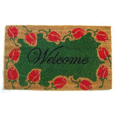 Tulip Welcome Doormat