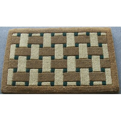 Inlaid Providence Doormat Rug Size: Rectangle 26 x 4