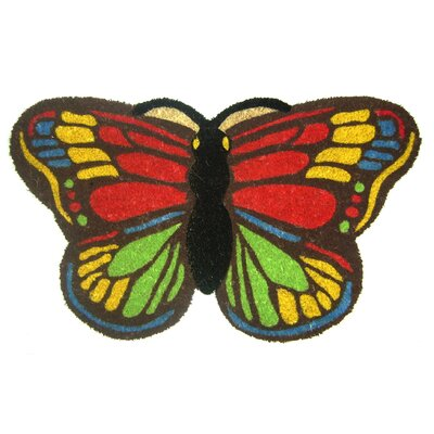 Colorful Butterfly Doormat