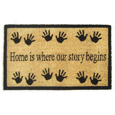 Story Begins Doormat