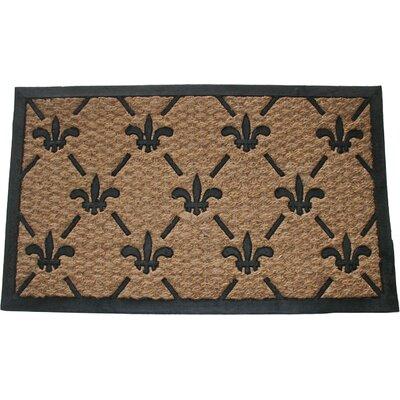 Fleur-de-Lis Doormat