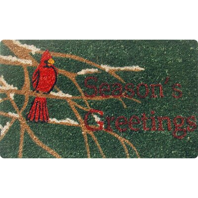 Seasons Greetings Doormat