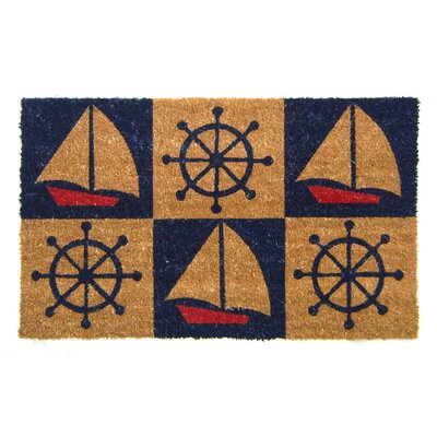 Nature Boats and Wheels Doormat