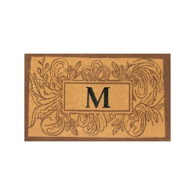 Marseille Leave Doormat Rug Size: Rectangle 30 x 48