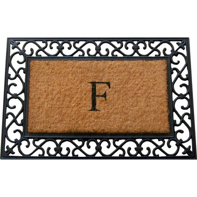 Tuffcor with Border Doormat Mat Size: Rectangle 22 x 36